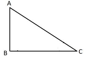 △ABC এ <B=90 যদি AC =2AB হয় তবে <C এর মান কত ?